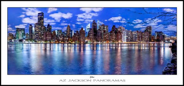 East River Photograph - Gothem Poster Print by Az Jackson