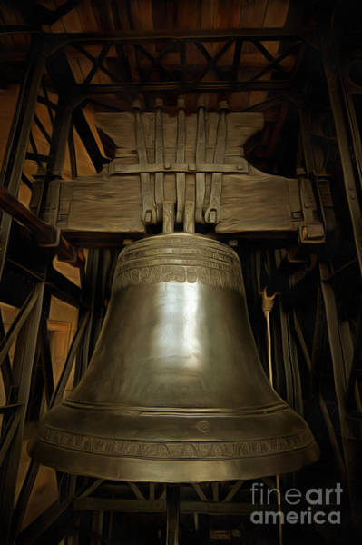 Czech Digital Art - Gothic Bell by Michal Boubin