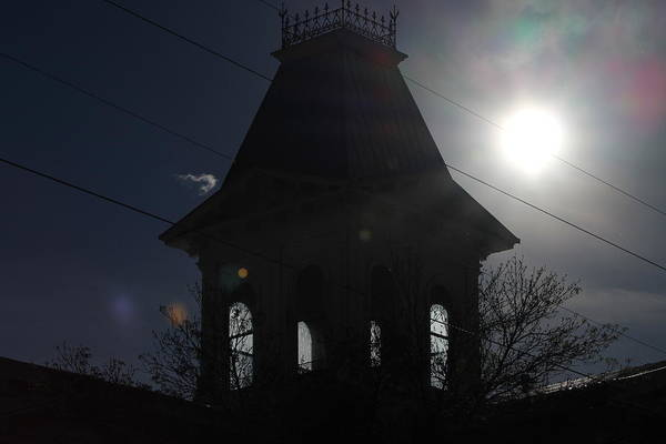 Photograph - Gothic Bell Tower In Direct Sun by Colleen Cornelius
