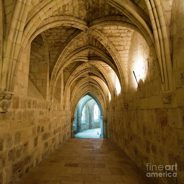Wall Art - Photograph - Gothic Church. Crypt. France. Europe. by Bernard Jaubert