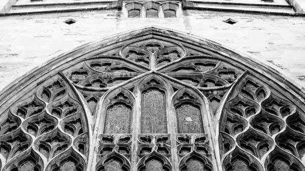 Photograph - Gothic Geometric Tracery A by Jacek Wojnarowski