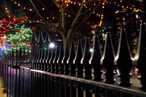 Photograph - Gothic Iron Gate - Boston Common by Joann Vitali