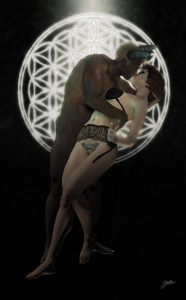 Passionate Digital Art - Gothic Love And Desire by Joaquin Abella