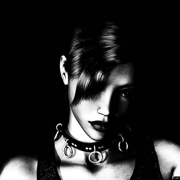 Mistress Photograph - Gothic Mistress by Ractopopulous
