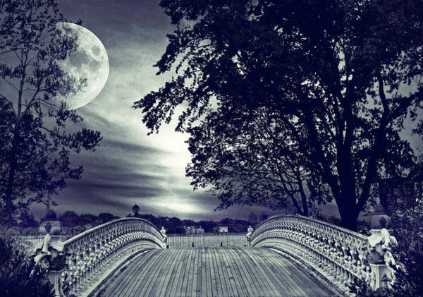 Photograph - Gothic Moon by Jessica Jenney