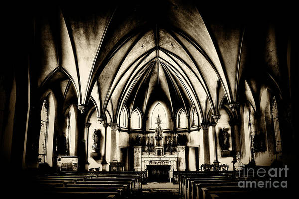 Photograph - Gothic Silence  by Paul W Faust - Impressions of Light