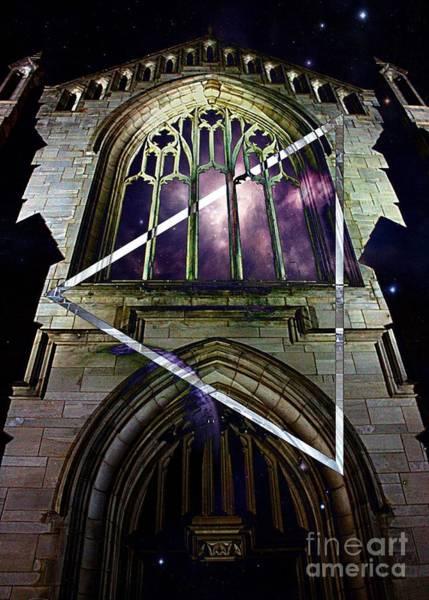 Photograph - Gothic Triangle by Jenny Revitz Soper