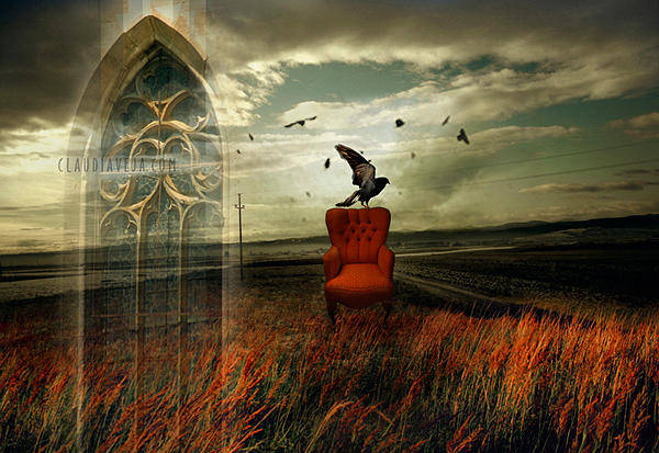 Craw Wall Art - Photograph - Gothic Wind by Claudia Veja