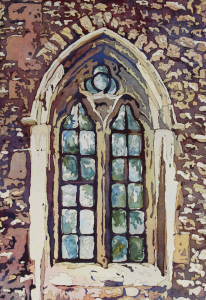 Painting - Gothic Window by Jenny Armitage