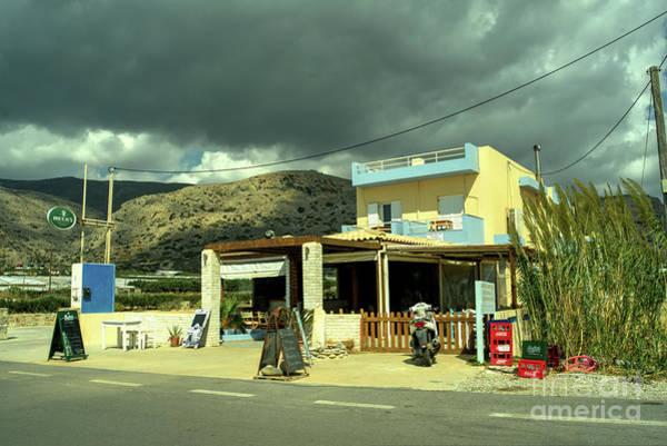 Taverna Photograph - Goudouras Tavern  by Rob Hawkins