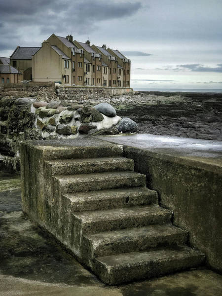 Fishing Village Photograph - Gourdon Seafront by Dave Bowman