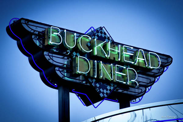 Photograph - Gourmet Dinning The Buckhead Diner Collection Atlanta Buckhead Art by Reid Callaway