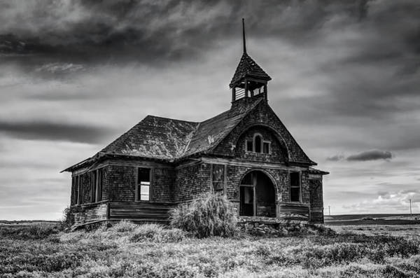 Schoolhouse Photograph - Govan Schoolhouse by Mark Kiver