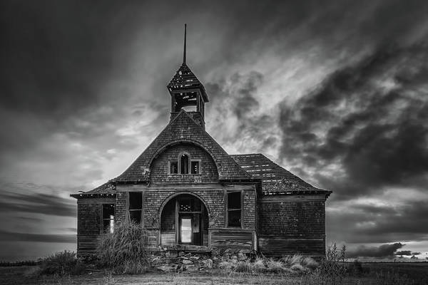 Photograph - Goven School House by Harold Coleman
