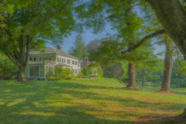 Painting - Governor Oliver Ames Estate by Bill McEntee