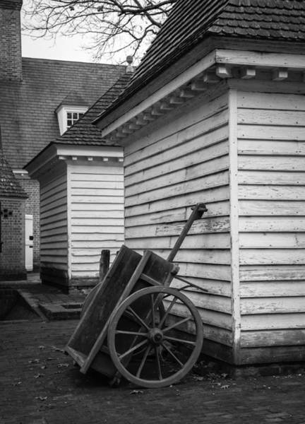 Royal Colony Photograph - Governors Wagon B W by Teresa Mucha