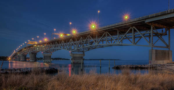 Photograph - G.p. Coleman Bridge by Jerry Gammon