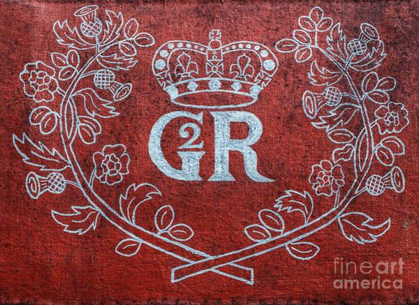 George Steele Wall Art - Photograph - Gr Georgius Rex Or King George by Randy Steele