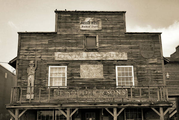 Photograph - Grabill General Store by Dan Sproul