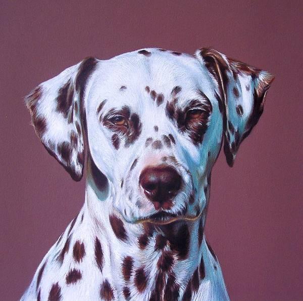 Drawing - Grace -  Close-up Detail by Elena Kolotusha