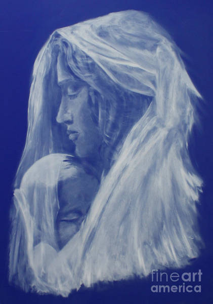Wall Art - Painting - Grace by Julie Bond