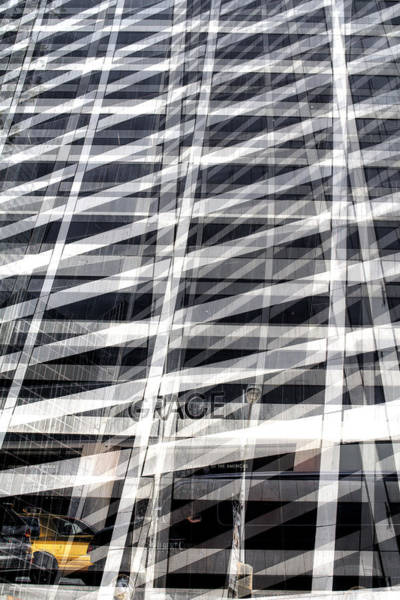Grace Building Collage 2 Art Print