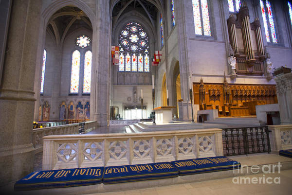 Grace Cathedral Photograph - Grace Cathedral Altar by David Bearden