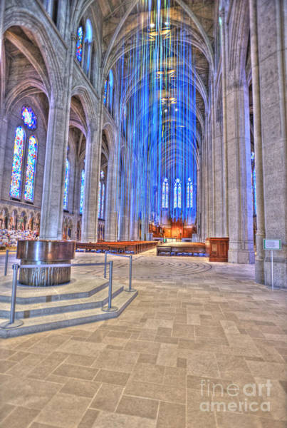 Grace Cathedral Photograph - Grace Grunge by David Bearden