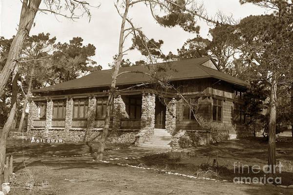 Photograph - Grace H Dodge Chapel Auditorium Asilomar Circa 1925 by California Views Archives Mr Pat Hathaway Archives