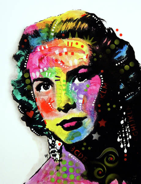 Painting - Grace Kelly by Dean Russo Art