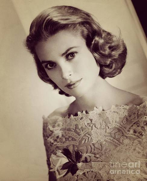 Hollywood Star Photograph - Grace Kelly, Movie Star by Esoterica Art Agency