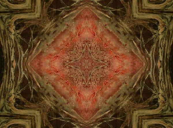 Mixed Media - Grace Mandala by 'REA' Gallery