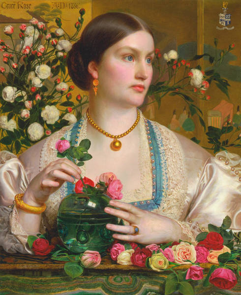 Painting - Grace Rose by Frederick Sandys