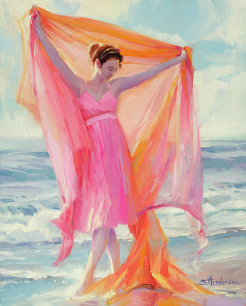 Coast Painting - Grace by Steve Henderson