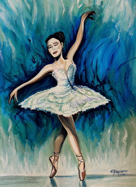 Painting - Graceful Dance by Elizabeth Robinette Tyndall