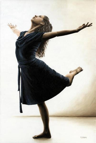 Posture Painting - Graceful Enlightenment by Richard Young