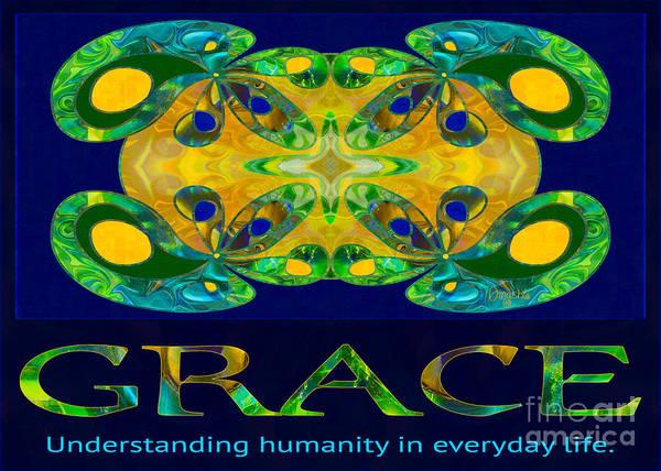 Digital Art - Graceful Humanity Spiritual Artwork By Omashte by Omaste Witkowski