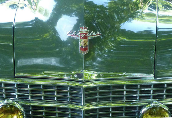 Photograph - Gracious Green Chrysler by Barbara Jacobs