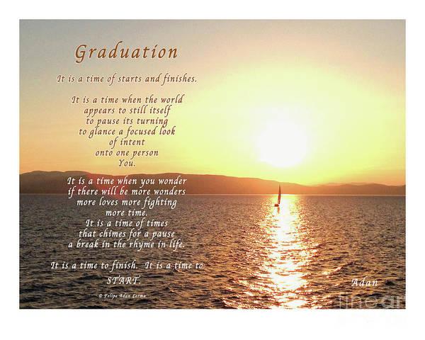 Hs Photograph - Graduation by Felipe Adan Lerma