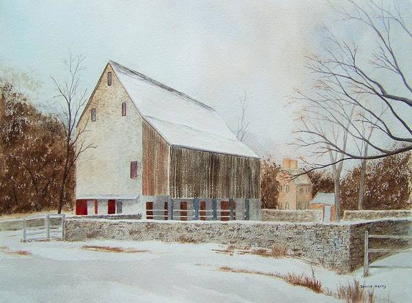 Wall Art - Painting - Graeme Park In Winter by Denise Harty