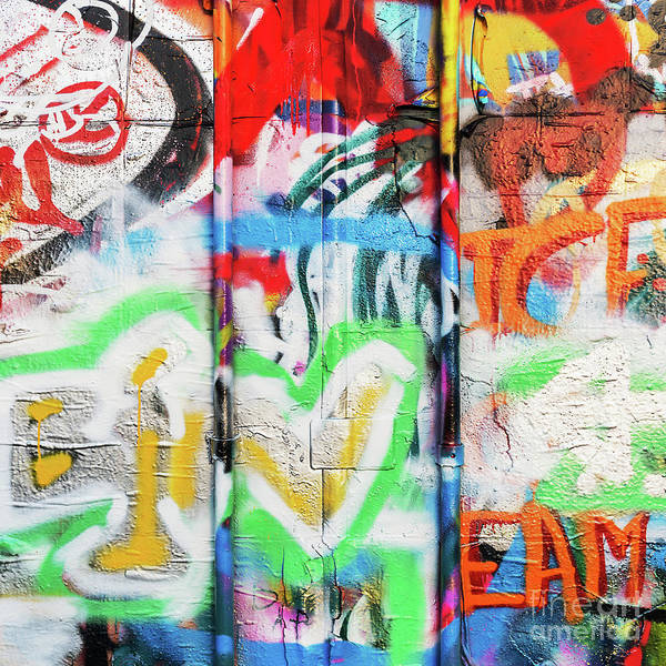 Wall Art - Photograph - Graffiti 2 by Delphimages Photo Creations