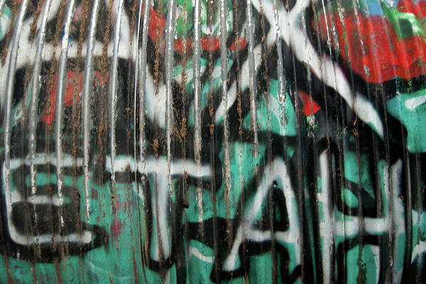 Photograph - Graffiti Abstract 1 by Jani Freimann