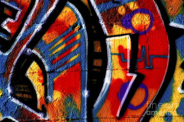Photograph - Graffiti Art - 055 by Paul W Faust -  Impressions of Light