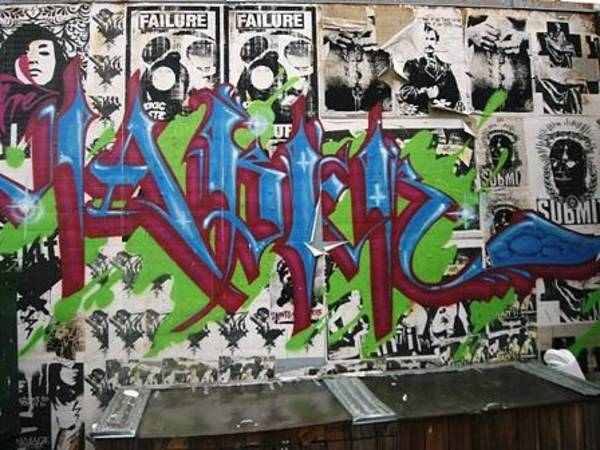 Visual Language Photograph - Graffiti Art by Signs of the tims collection