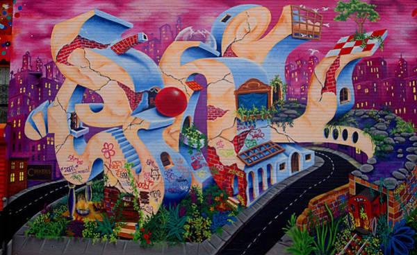 Photograph - Graffiti City by  Newwwman