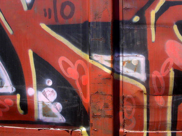 Photograph - Graffiti Closeup by Anne Cameron Cutri