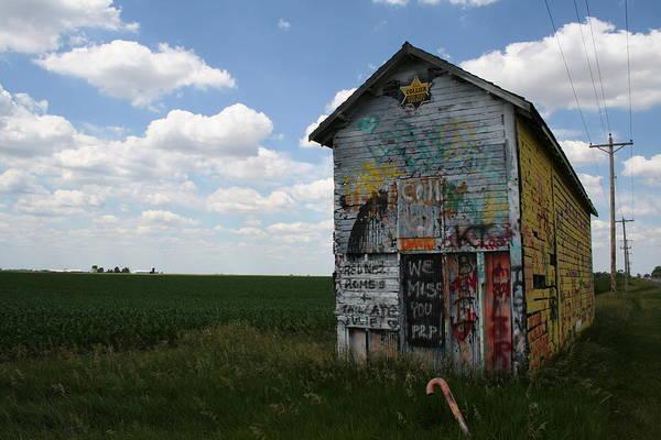 Photograph - Graffiti Crib by Dylan Punke