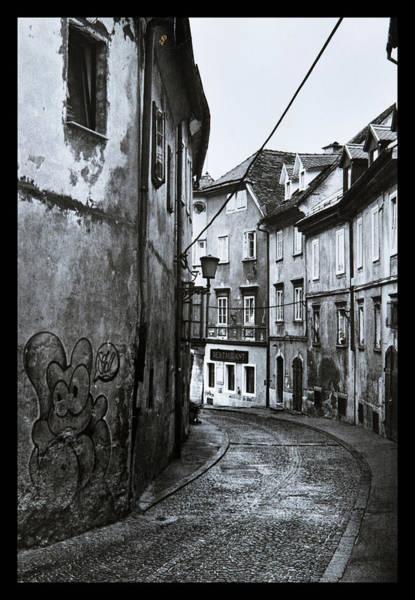 Ljubljana Photograph - Graffiti In The Streets Of Ljubljana by Dirk Ercken