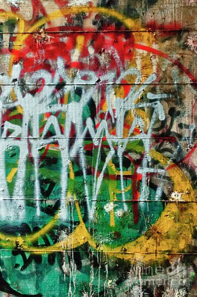 Photograph - Graffiti Scramble by Terry Rowe