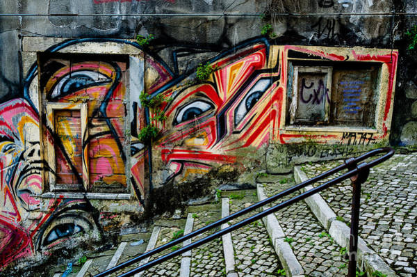 Photograph - Graffiti by M G Whittingham
